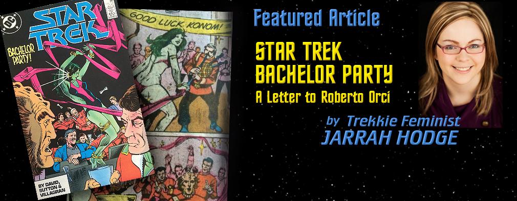 Star Trek Bachelor Party by Jarrah Hodge