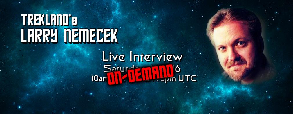 Larry Nemecek Interview 5/16