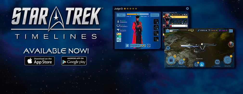 Star Trek Timelines Available Now