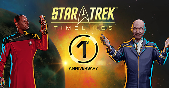 ST Timelines 1st Anniversary