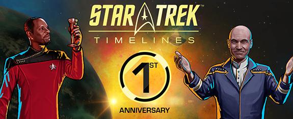 Star Trek Timelines Anniversary