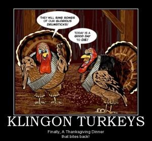 Klingon Turkeys