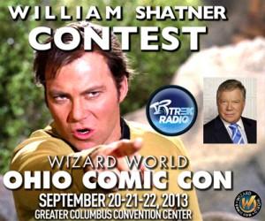 Trek Radio William Shatner VIP Contest