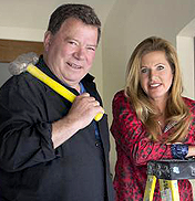 Bill and Elizabeth Shatner