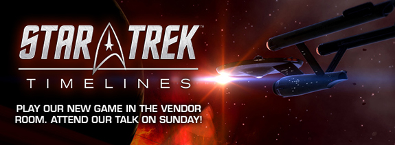 Star Trek Timelines playable demo at STLV
