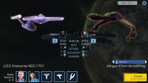 Star Trek Timelines - Ship Stats
