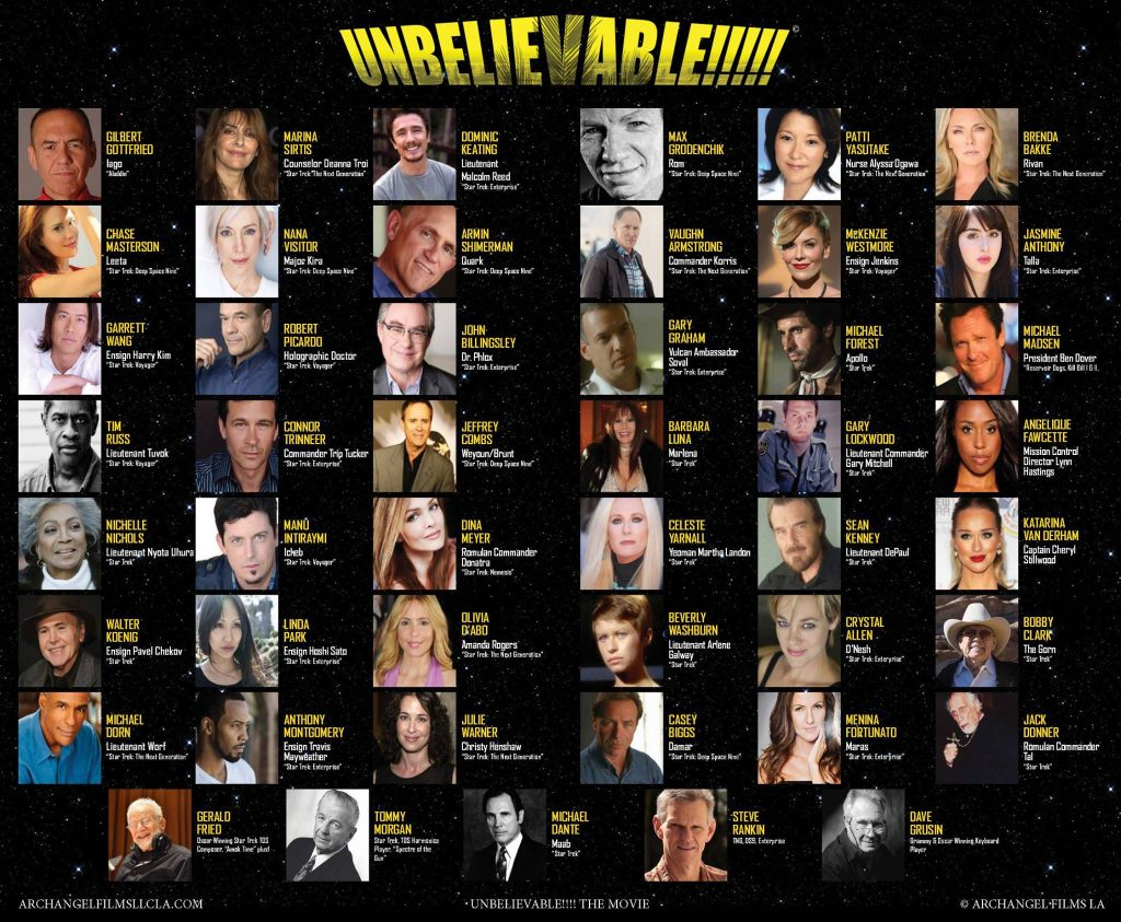 Unbelievable!!!!! Cast List